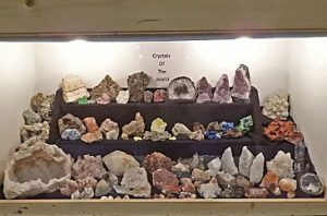 Crystals of the World Display by Carol and Brannon Barr
