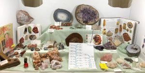 Lynne Wheeler's Quartz Family Tree Display