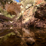 Tonto Natural Bridge Pine Creek Reflections